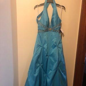 Light blue Prom dress 👗